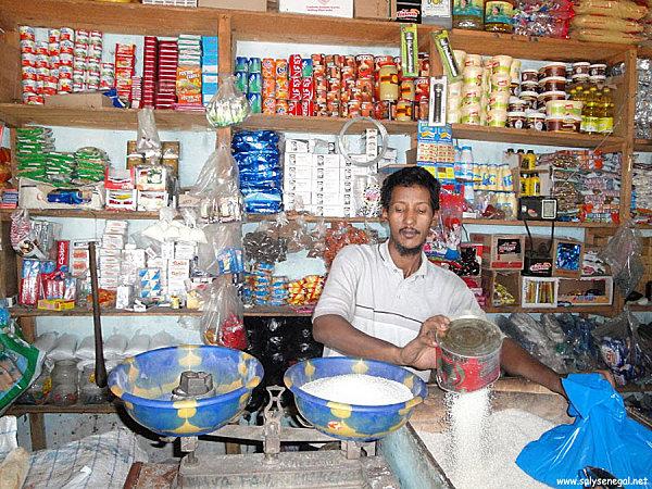 Commerçant mauritanien