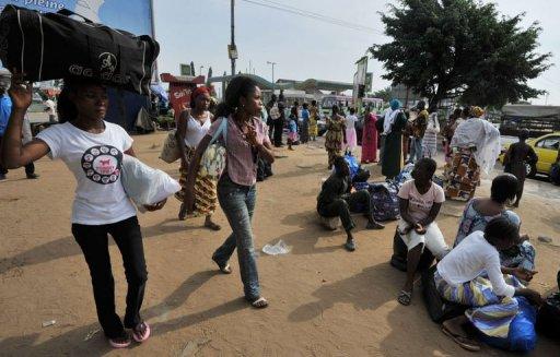 Nombreux sont ceux qui quitte Abidjan