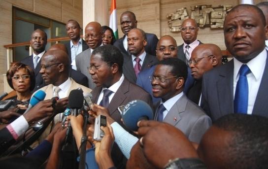 Le FPI et ses partis satellites enfin au Palais Présidentiel