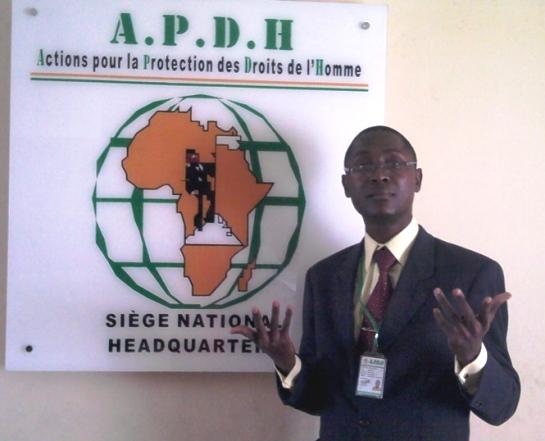 Eric Aimée SEMIEN Président de l'APDH