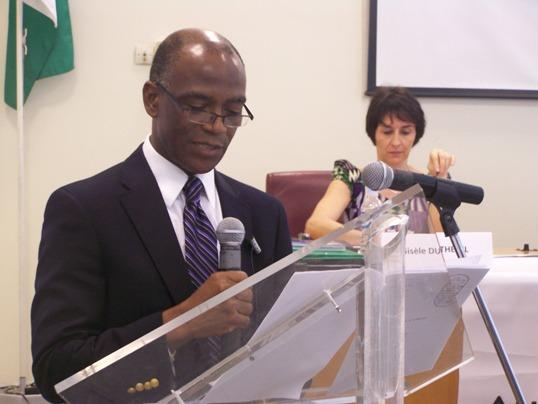 Mamadou Coulibaly Président de l'Assemblée Nationale de Côte d'Ivoire