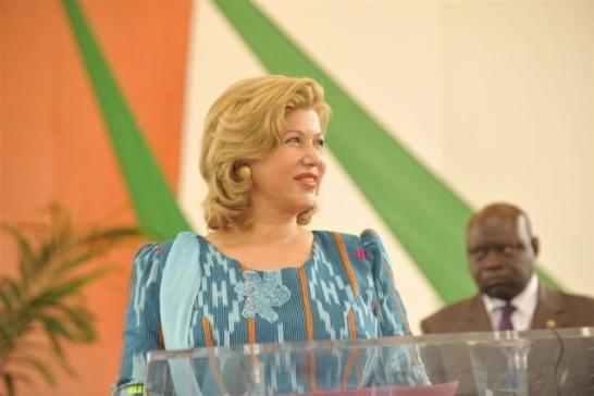 La Première Dame de Côte d'Ivoire a invité les femmes à se mobiliser pour le respect de leurs droits