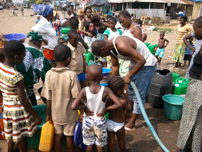 L'accès à l'eau potable est devenu un enjeu important pour la Côte d'Ivoire