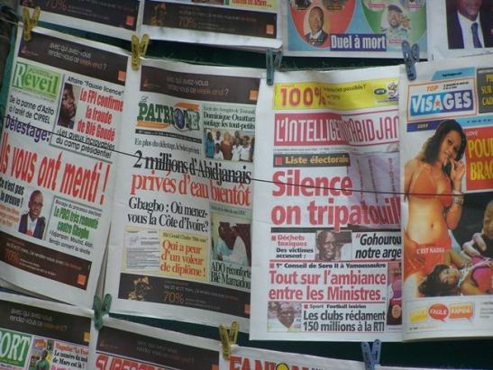 La presse Ivoirienne saura-t-elle se remettre en cause et reconnaître son implication dans la crise post-électorale ?