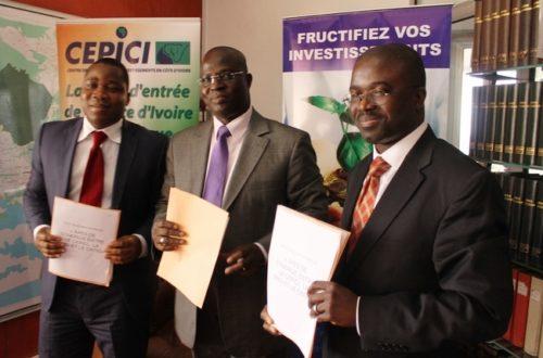 Article : La Côte d'Ivoire vers un guichet unique d'investissement
