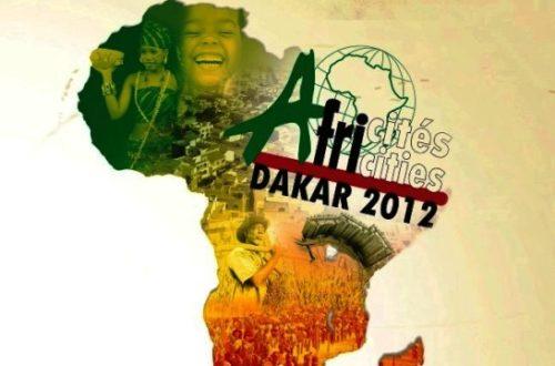 Article : 6ème édition du sommet Africité à Dakar (avant papier)