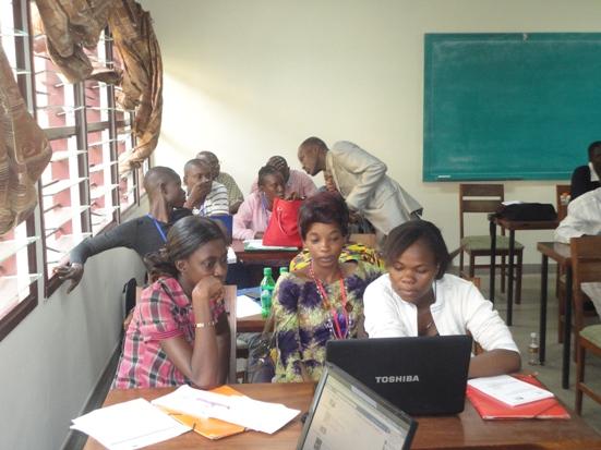 Jeunes leaders ivoiriens en atelier