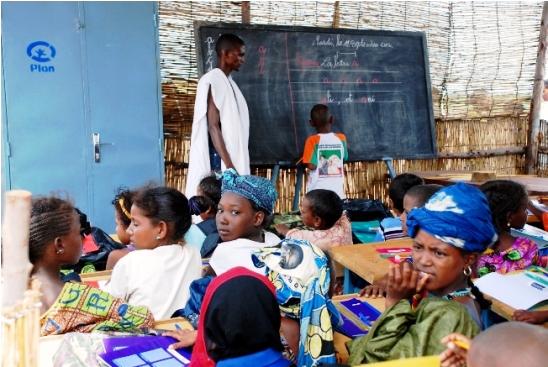 Enfants Maliens réfugiers au Burkina Faso