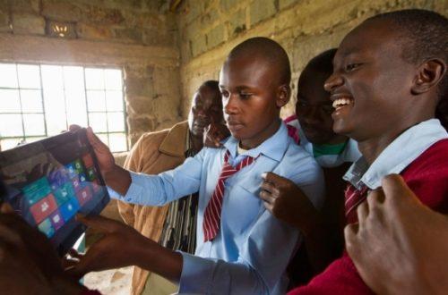Article : Initiative 4Afrika : Ce que Microsoft promet aux jeunes ivoiriens