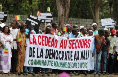 Article : Les maliens de Côte d'Ivoire contribuent à l'effort de guerre