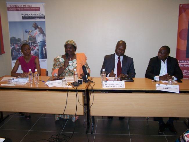 Les partenaires au projet étaient tous présents à l'étape d'Abidjan