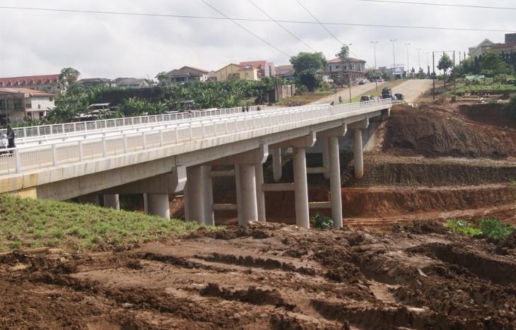 Un pont réhabilité dans la commune de Cocody (image d'illustration)