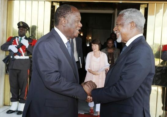 Koffi Annan impressionné par les efforts de la Côte d'Ivoire