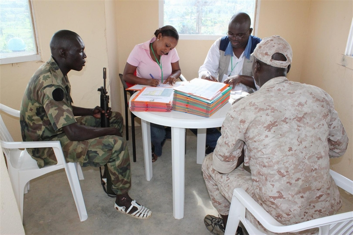 Une opération de DDR à Anyama