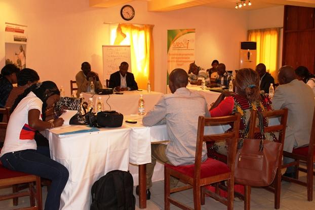 Les journalistes ouest-africains à la formation d'Abidjan