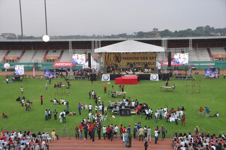 entre 8.000 et 10.000 ivoiriens sont venus assistés au lancement du MASA