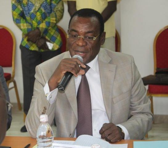 Affi N'guessan le patron du FPI lors de la reprise du dialogue politique