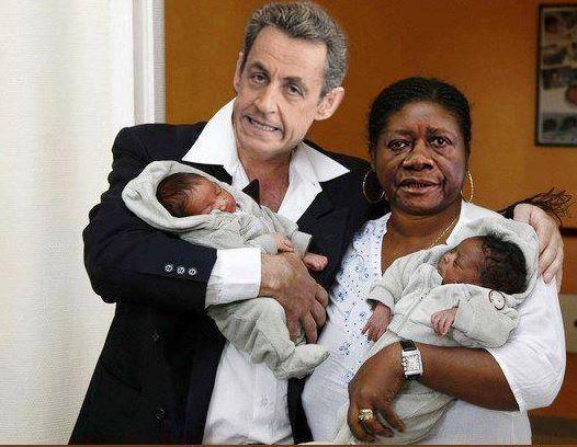 Monsieur et Madame Sarkozy…