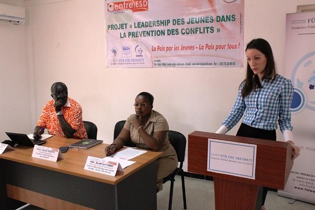 Sophie Konaté invite les jeunes à renoncer à la violence