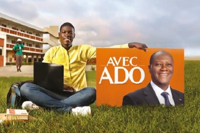 Alassane Ouattara a promis une éducation de qualité aux étudiants ivoiriens, aujourd'hui il leur offre et la rue