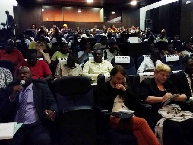 Les jeunes ont répondu présent à l'invitation de l'UNBCI