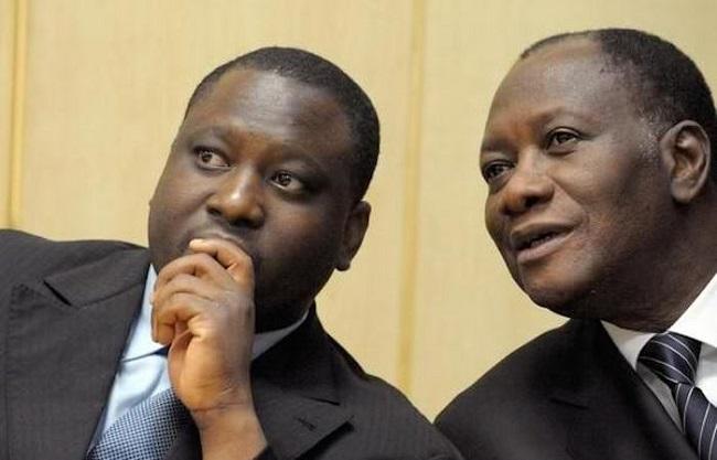 Guillaume Soro choisi par Alassane Ouattara au nom du RDR pour la présidence de l'Assemblée Nationale